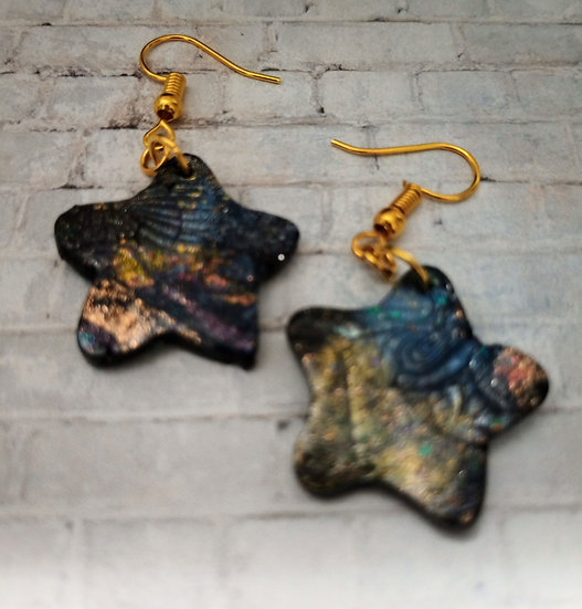 Sparkly Tiny Star Earrings