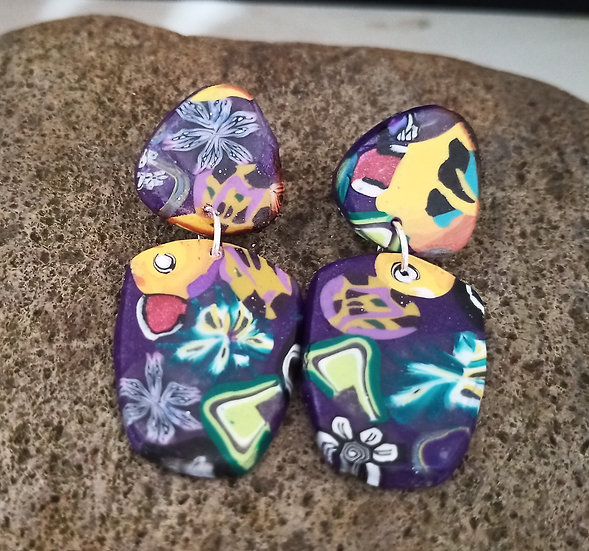 Mexican Soul Mix shapes #2 Earrings