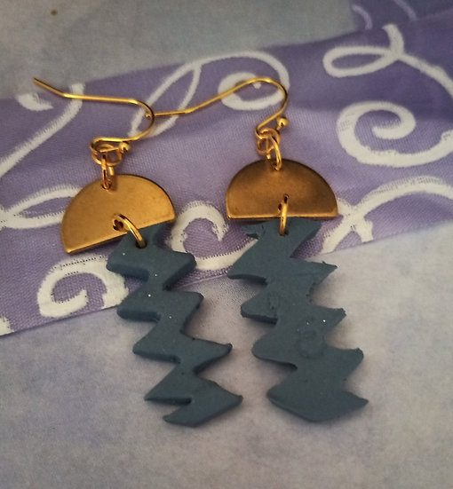 Vancouver Vibes Jagged Edge Earrings #2