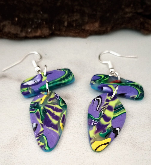 Tropical Paradise Statement Earrings #1