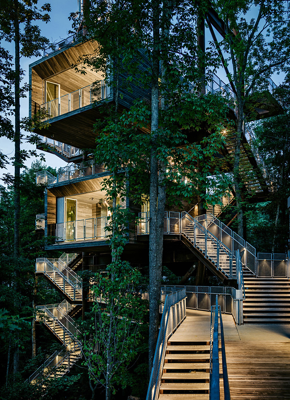Sustainability Treehouse at the Summit Bechtel Reserve