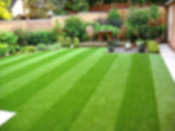 Professional grass, turf and lawn care services in London and Essex by landscaping company Aspiring Landscapes