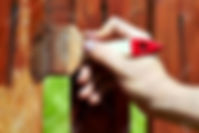 Garden wood painting and treatment in London and Essex