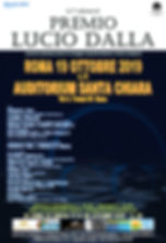 locandina Premio Roma 19 Ottobre 2019.jp