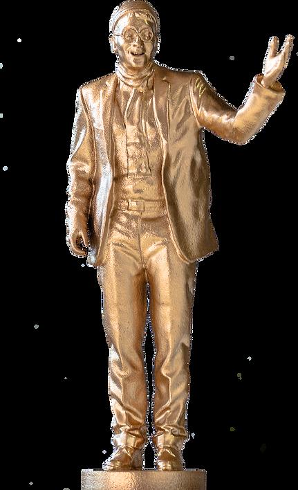 Modello Oscar Premio Lucio Dalla Oro 02.