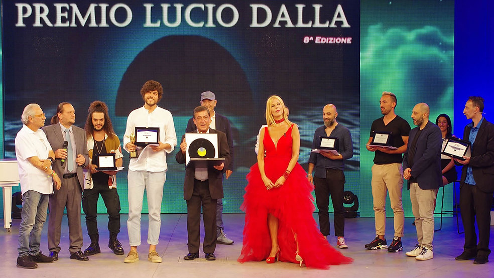 Premiazioni Finale Premio Lucio Dalla 20