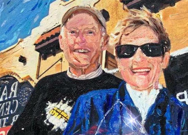 Mr. and Mrs. Blazier 2020
