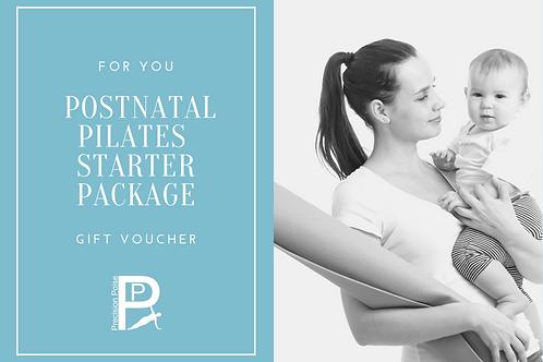 Gift Voucher:  Postnatal Starter Package