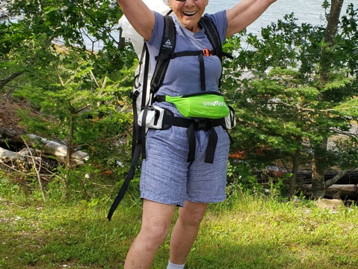 Soaring Senior: Pandemic won't stop 78-year-old Bath woman from 272-mile hike