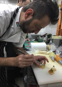 Chef Tarek Alali guest chef work