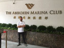 Chef Tarek Alali at the HKAMC