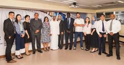 Chef Tarek Alali at UAE event