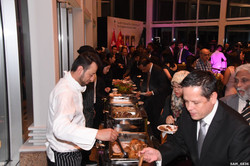 Chef Tarek Alali at work