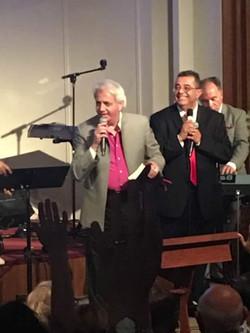 Benny Hinn and Pastor Tony
