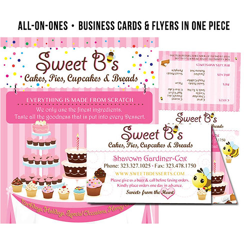 All-in-One Business Card Flyers