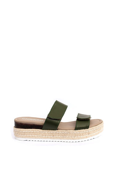 Romina Green - Cactus Leather Sandal