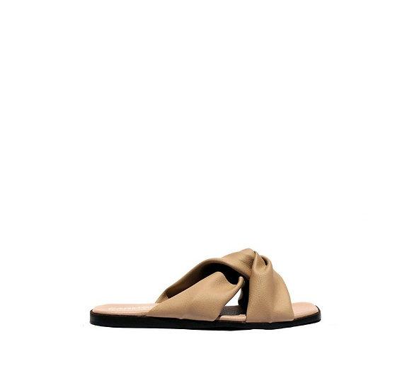 Valentina Beige - Cactus Leather Sandal