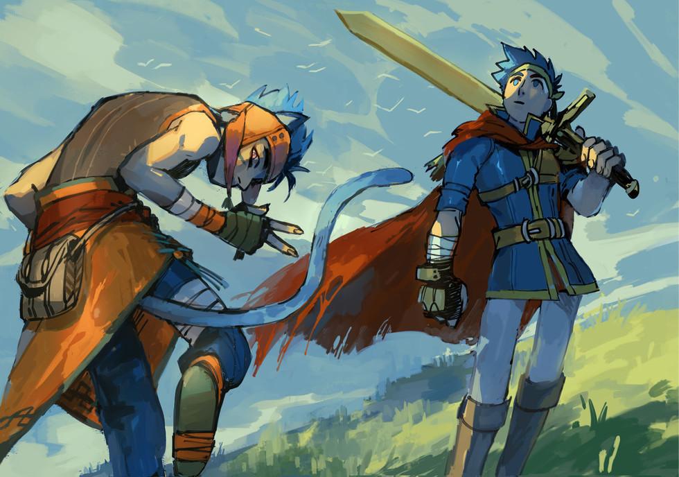 Ranulf & Ike