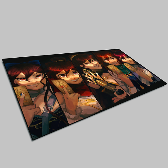 Dueling Annas Playmat