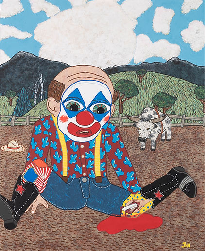 Rodeo Clown with Compound Fracture.jpg