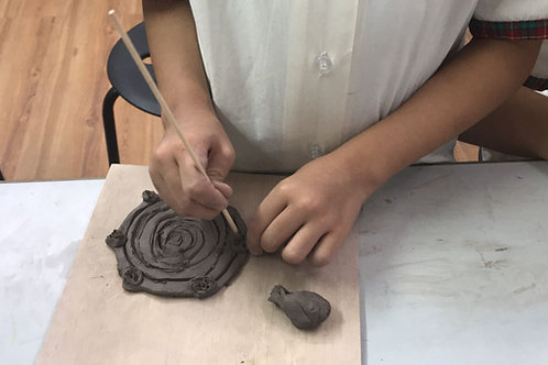 Term 1 2020, Clay-Play Programme at Early Learning Village
