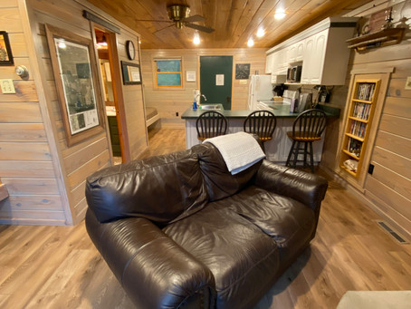 Cabin Makeover with Select Surfaces.