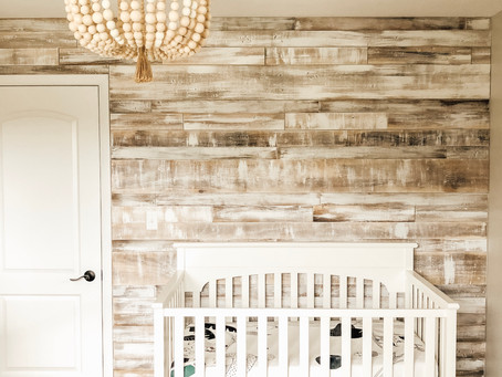 How to Create a Faux Pallet Wall Using Plywood