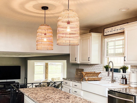 Rattan Light Hack: How to get the look for less!