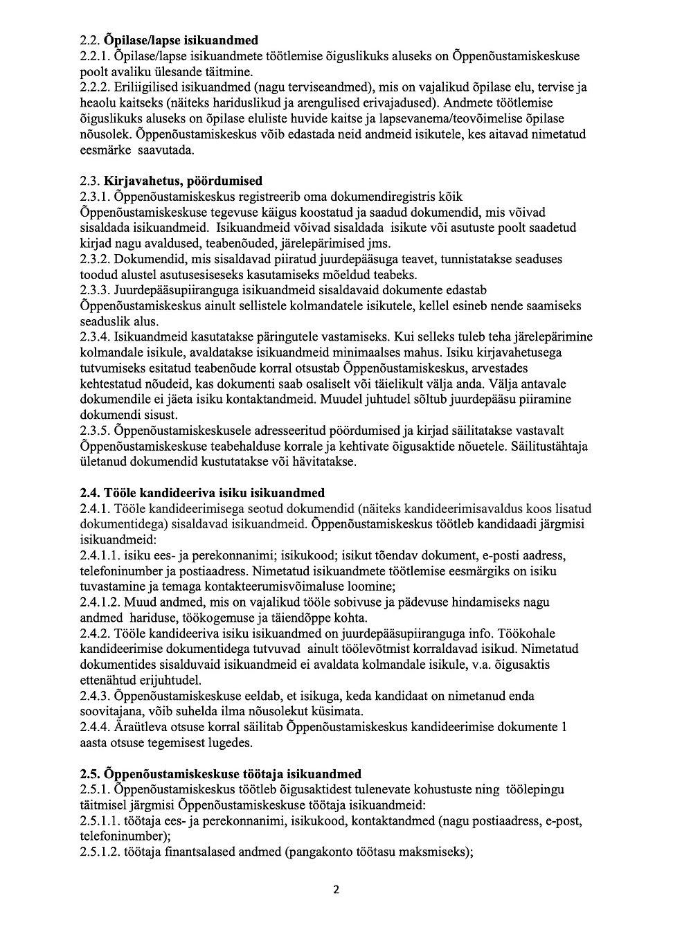 2._Pärnu_ÕNK_Isikuandmete_töötlemise_tin