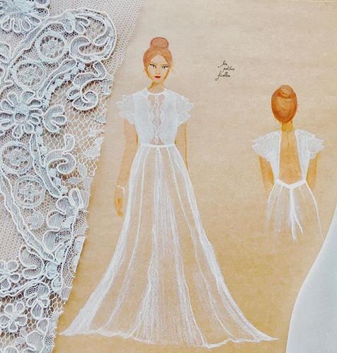 La proposition de robe de mariée MARS