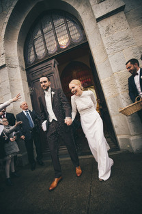 Mariée d'hiver - Robe sur mesure