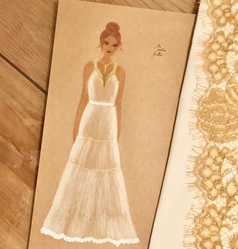 La proposition de robe de mariée AVRIL
