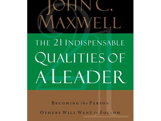 BOTM: The 21 Indispensable Qualities of a Leader by John C. Maxwell