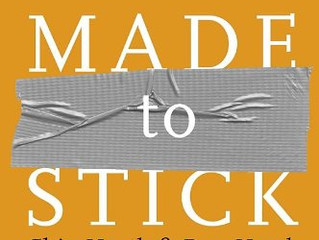 Book of the Month: Made to Stick by Chip & Dan Heath