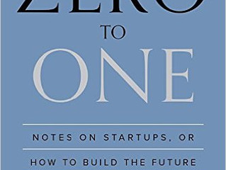 Book of the Month: Zero to One by Peter Thiel