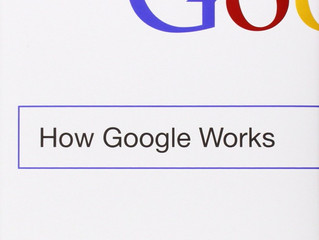 Book of the Month: How Google Works by Eric Schmidt and Jonathan Rosenberg