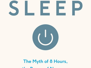 Featured BOTM: Sleep by Nick Littlehales