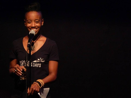 From Behind the Microphone: LOVE the Poet