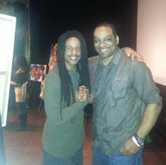 E-baby and Twist at Busboys and Poets, Hyattville, MD