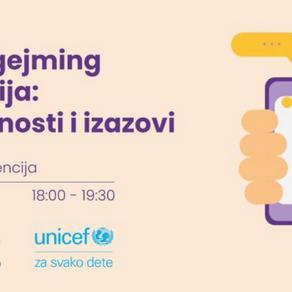 UNICEF i SGA organizovali konferenciju o odgovornom gejmingu i deci