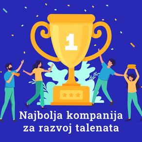 Prijavite se za nagrade i budite prepoznati kaonajbolja kompanija za razvoj talenata!