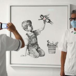 Banksy najnoviju sliku posvetio zdravstvenim radnicima