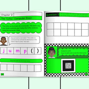 Little Hackers, prva knjiga koja uči decu programiranju pomoću papira