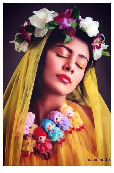 Makeover  _Salma uma _Photo_ manir mrittik _Model_ Toya