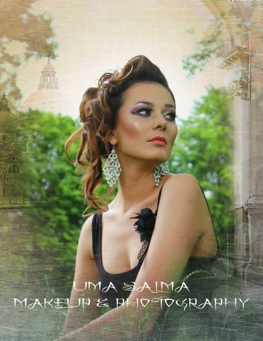 Makeup & photography by Uma Salma Mua_Hair syling by FiFi Hanem_Model Olga Aleksandrovna K