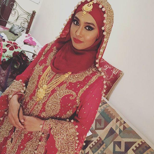 Traditional Bride look by me #makeupart #maccosmetics #bridelook #internationalmua #eyeshadow #eyes