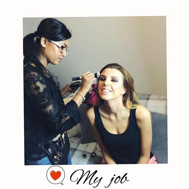 Weekend #makeuplover #makeupjob #instadaily #instamood #makeupartist #macproartist #proartist #lovem