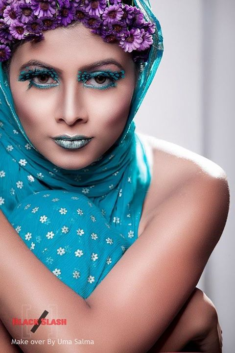 Makeup by Uma Sal Niki_photography by Riyad Ashraf_model_ 'Mumtäheenä Töya_Please don't use this ima