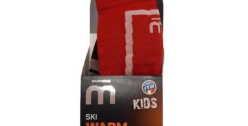 MICO SKI WARM CONTROL KIDS RED S