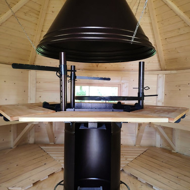 Enjoy a cosy, indoor, BBQ for 2